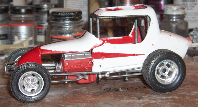 Here is my model car stuff