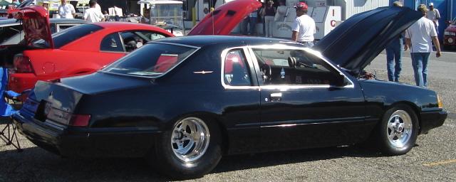 Thunderbird Race Car